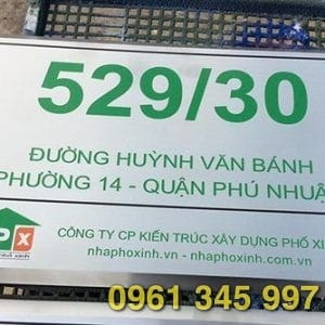 Gia công biển inox ăn mòn giá rẻ chất lượng tại TP.HCM