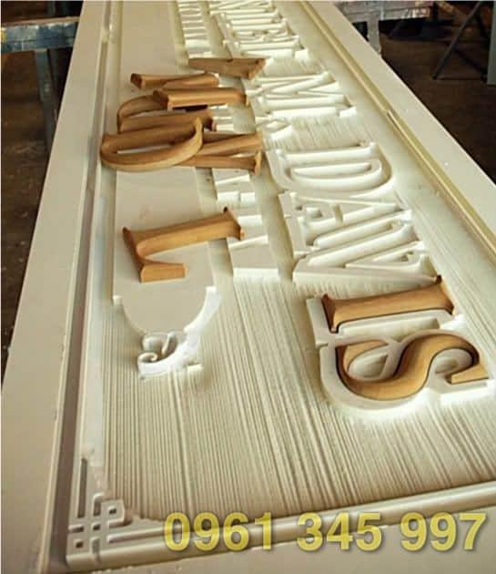 Bảng gỗ cắt khắc cnc