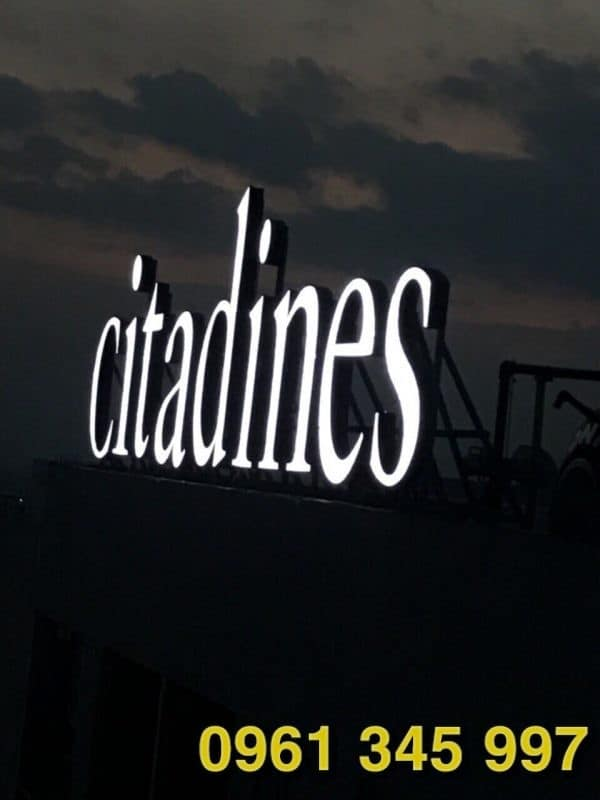 Biển hiệu Citadines