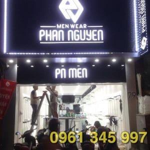 Thi công biển hiệu các cửa hàng thời trang Phú Mỹ Hưng
