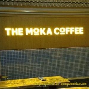 Ưu điểm của bảng hiệu alu chữ nổi mica cho quán cà phê