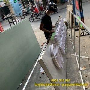 Làm bảng hiệu quảng cáo Hồ Chí Minh
