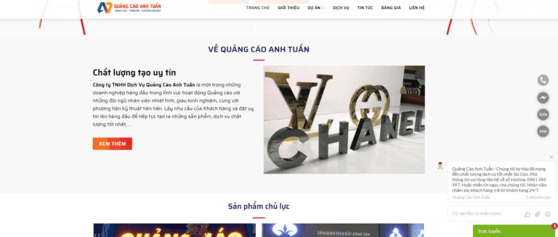 Làm Bảng Hiệu Quảng Cáo Quận 3 TpHCM | Uy Tín & Chất Lượng
