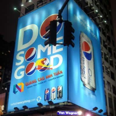 Bảng quảng cáo đẹp với đèn led có hiệu quả như thế nào