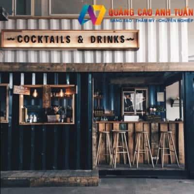 Địa Chỉ Làm Bảng Hiệu Công Ty Cafe Giá Rẻ Thu Hút