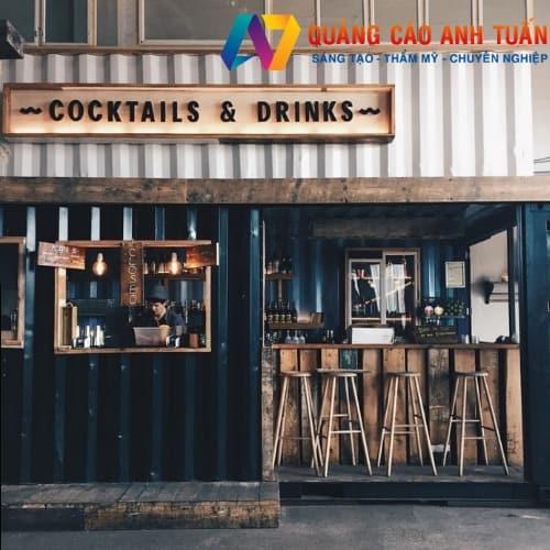 Các Mẫu Quảng Cáo Ấn Tượng Cho Quán Cafe