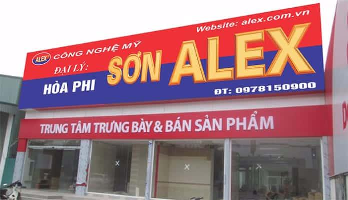 Các loại biển hiệu Hiflex được yêu thích nhất - biển hiệu đẹp tại tphcm