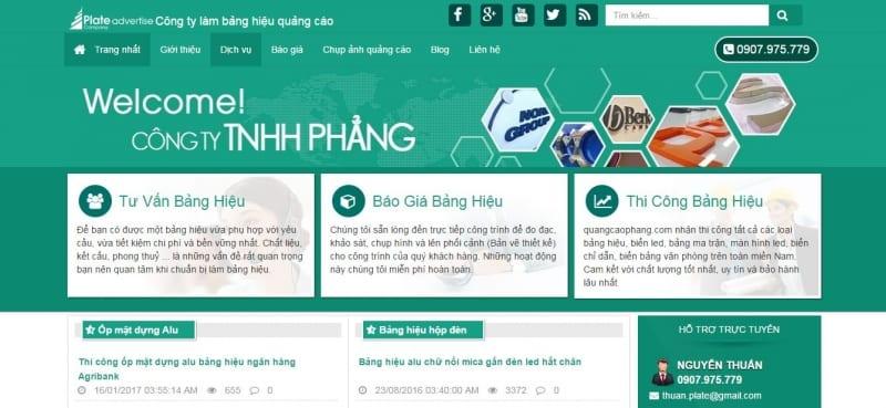 TOP 10 Công Ty Làm Biển Hiệu Quảng Cáo Giá Rẻ Tại TP.HCM