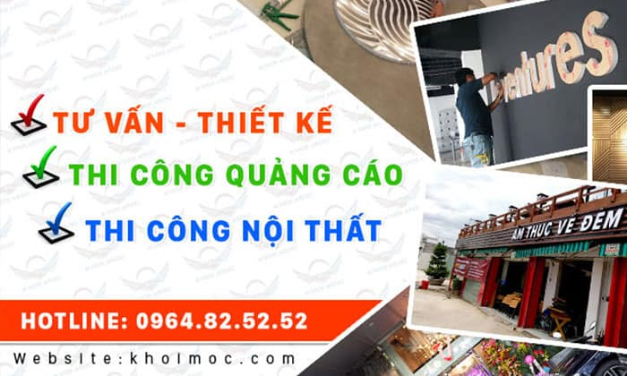 Top 2 Công Ty Làm Bảng Hiệu Quảng Cáo Uy Tín Tại TPHCM