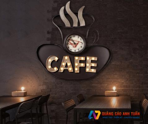 Những yếu tố cần có của mẫu bảng hiệu quán cafe hiện đại