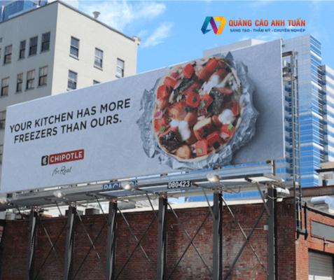 Ý nghĩa màu sắc trên tấm bảng hiệu quảng cáo ngoài trời