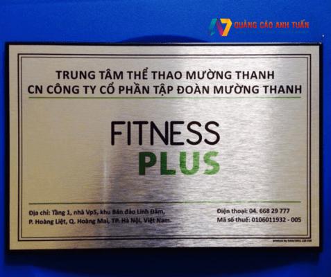 Làm biển công ty - Bảng hiệu quảng cáo tại quảng cáo Anh Tuấn