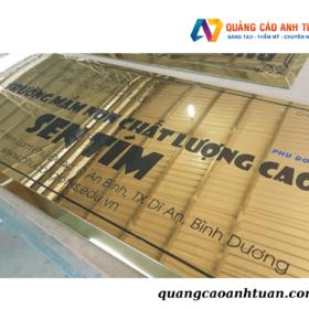Đơn Vị Chuyên Làm Biển Tên Công Ty Uy Tín & Chất Lượng Tại TP.HCM
