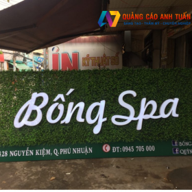 Những lưu ý khi thiết kế mẫu bảng hiệu quảng cáo ấn tượng cho spa
