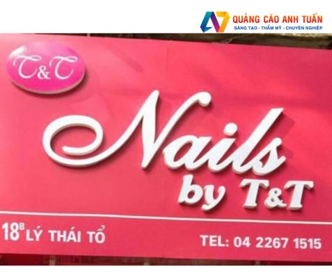 Những tiêu chí để có bảng hiệu ấn tượng cho salon nail